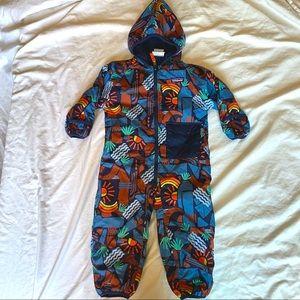Patagonia toddler reversible snowsuit (rare!!)